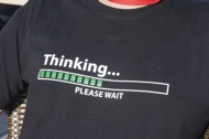 Thinking Please wait
